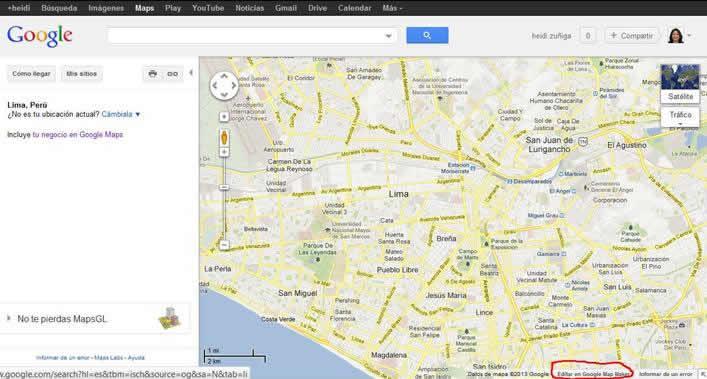 google maps para el posicionamiento web