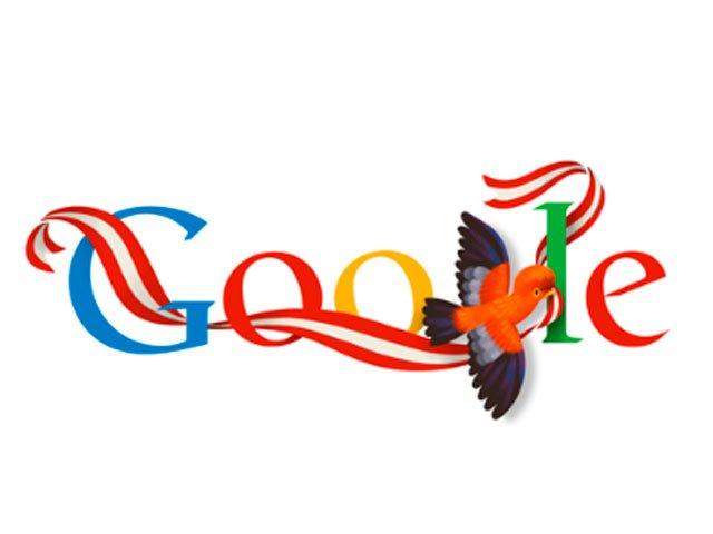 doodle dia de la independencia de peru 2013