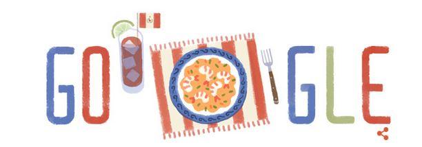 doodle fiestas patrias peru 2014