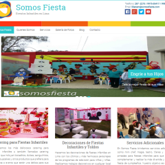 Somos Fiesta – Servicio SEO – ESPASEO – Posicionamiento