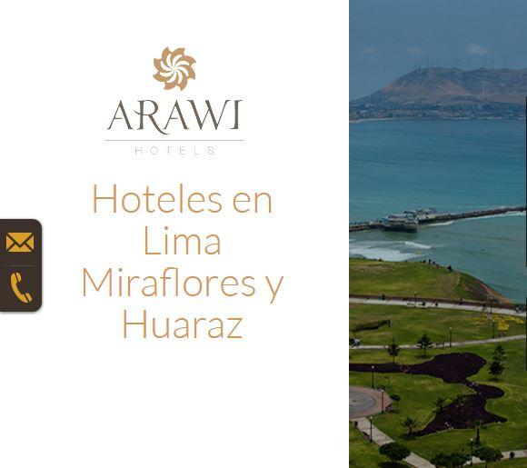 Hoteles en Miraflores y Huaraz Arawi SEO