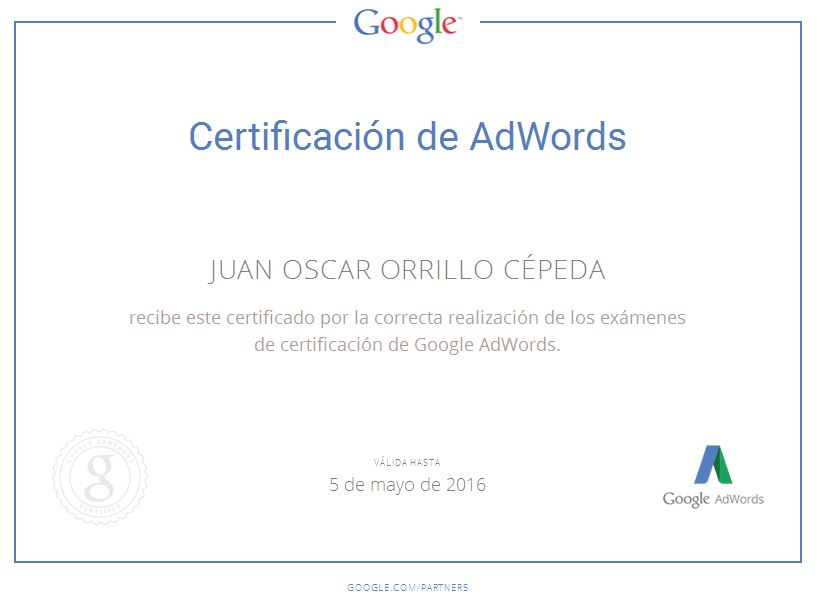 juan orrillo google partners