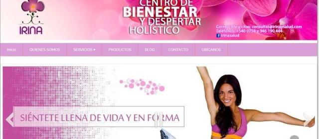 Diseño Web para Irina y Salud