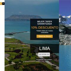 SEO para Hoteles en Miraflores y Huaraz Arawi