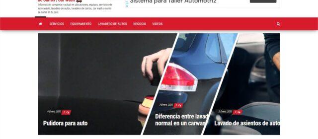 Servicio SEO a Car Wash en Perú